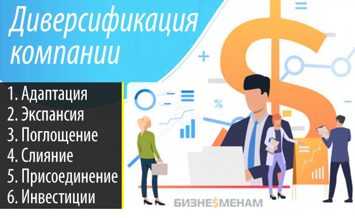 Методы диверсификации компании: 6 способов